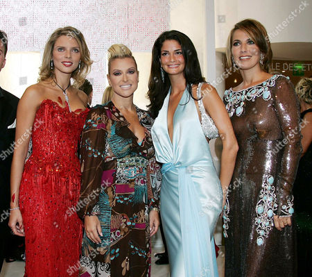 Sylvie Tellier, Anastacia, Shermine Sharivar and Natacha Amal