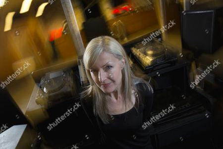 Stock Image of DJ Mary Anne Hobbs