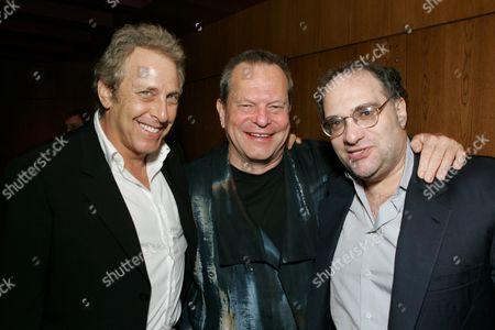 Charles Roven, Terry Gilliam & Bob Weinstein