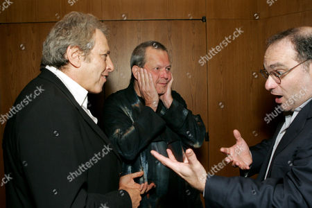 Producer Charles Roven, Terry Gilliam and Bob Weinstein