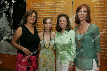 Susan Dolgen, Christina Ricci, Wendy Goldberg & Jamie McGurk