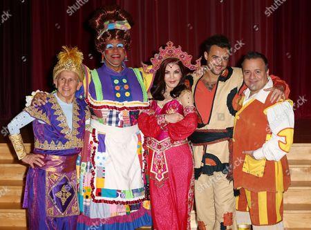 Editorial photo of 'Aladdin' press Launch, Chrysalis Theatre, Milton Keynes, Britain - 18 Nov 2015
