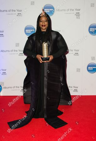 Editorial picture of The Mercury Prize awards, London, Britain - 20 Nov 2015