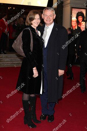Stock Picture of Martin Clunes and Philippa Braithwaite