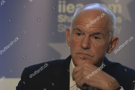 George Papandreou addresses at Institute of International and European Affairs (IIEA) during A New Vision for Europe and Greece: The Only Way Forward talk