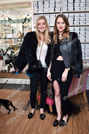 Charlotte Beecham and Rosie Fortescue