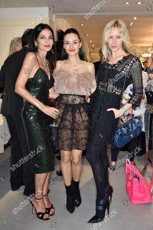Yasmin Mills, Aytan Eldarova and Nadya Abela