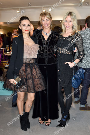 Aytan Eldarova, Assia Webster and Nadya Abela