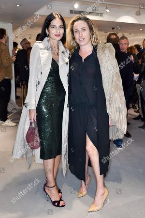 Yasmin Mills and Amelia Troubridge