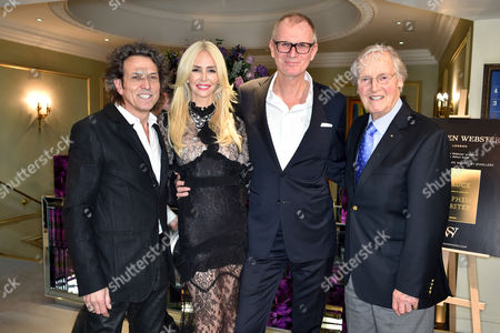 Editorial picture of Stephen Webster 'Goldstruck: A Life Shaped by Jewellery' book launch at Fortnum & Mason, London, Britain - 18 Nov 2015