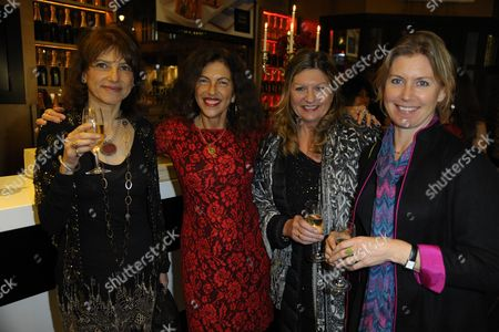 Stock Picture of Dido Goldsmith, Clio Goldsmith and guests
