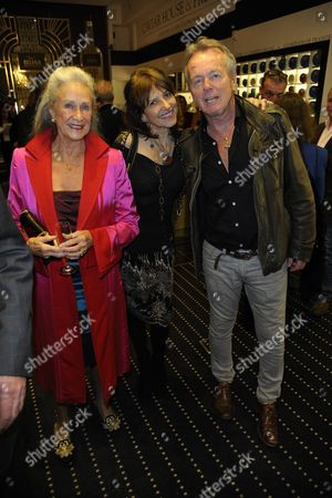 Dido Goldsmith with guests
