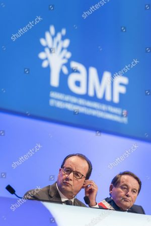 Francois Hollande, Andre Laignel