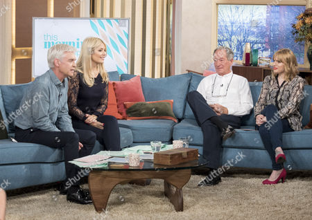 Phillip Schofield and Holly Willoughby with Michael Buerk and Sarah Powell
