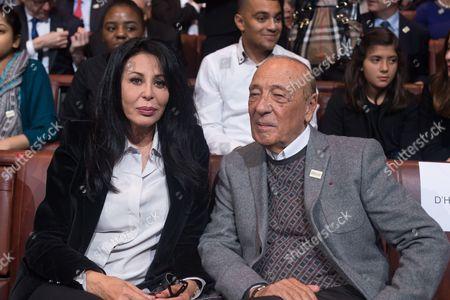 Yamina Benguigui and Jacques Seguela