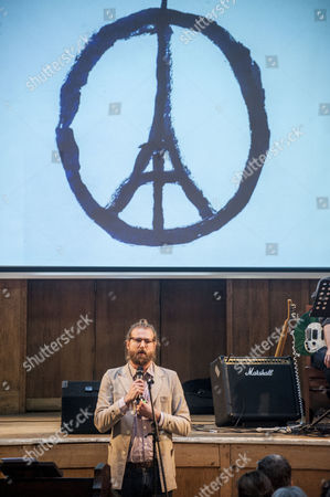 Editorial picture of The Sunday Assembly at Conway Hall, London, Britain - 15 Nov 2015
