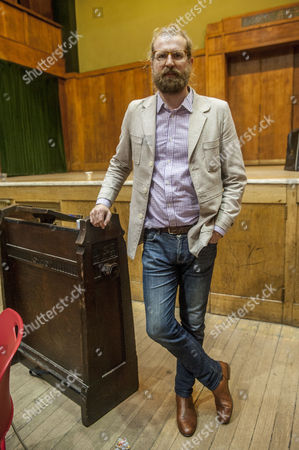 Editorial image of The Sunday Assembly at Conway Hall, London, Britain - 15 Nov 2015