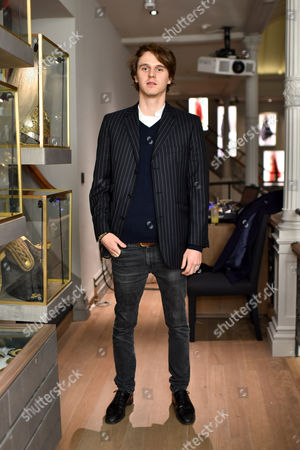 Editorial picture of Gieves & Hawkes Christmas party, London, Britain - 19 Nov 2015
