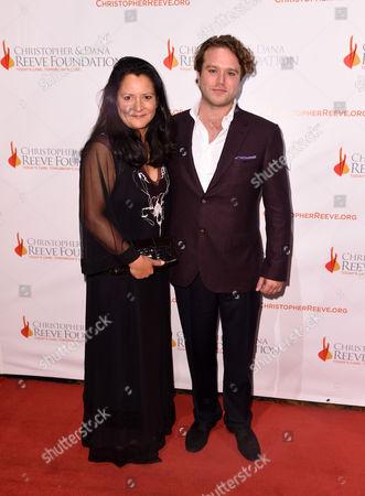 Editorial photo of Christopher and Dana Reeve Foundation 'A Magical Evening', New York, America - 19 Nov 2015