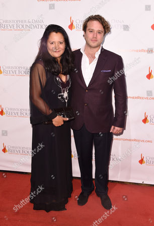 Stock Picture of Marsha Garces and Zak Williams