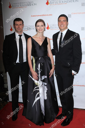 Matthew Reeve, Alexandra Reeve and William Reeve