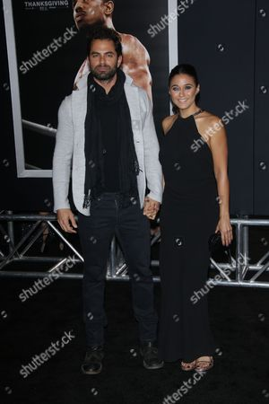 Emmanuelle Chriqui with Adrian Bellani