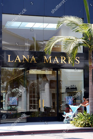 Lana Marks in Beverly Hills, Los Angeles, America