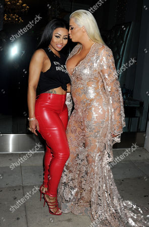 Stock Image of Blac Chyna and Karissa Shannon