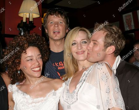 Marcy Harriell, Will Chase, Julia Murney, Chad Kimball