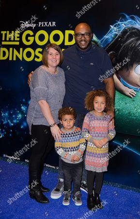 Editorial image of 'The Good Dinosaur' film premiere, London, Britain - 22 Nov 2015