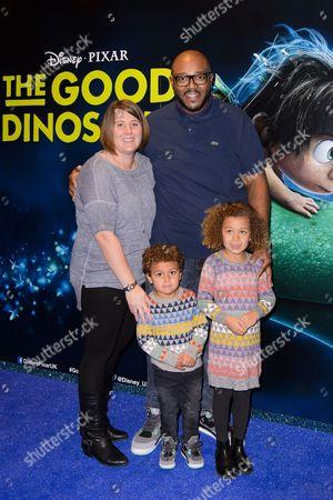 Editorial photo of 'The Good Dinosaur' film premiere, London, Britain - 22 Nov 2015