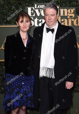 Roger Allam and Rebecca Saire