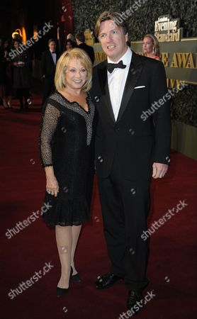 Stock Picture of Elaine Paige and Justin Mallinson