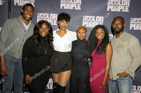 Editorial photo of 'The Color Purple' play photocall, New York, America - 20 Nov 2015