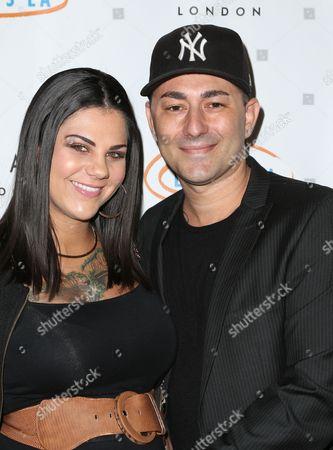 Alaina Hicks and Dennis DeSantis