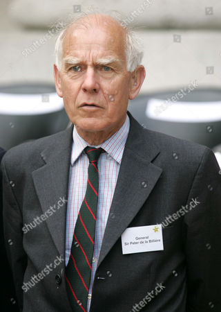 Stock Picture of General Sir Peter De la Billiere