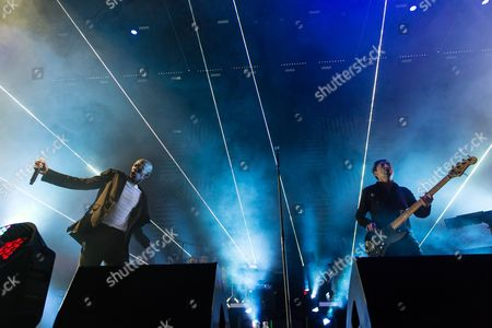 Editorial picture of Faithless in concert at Alexandra Palace, London, Britain - 21 Nov 2015