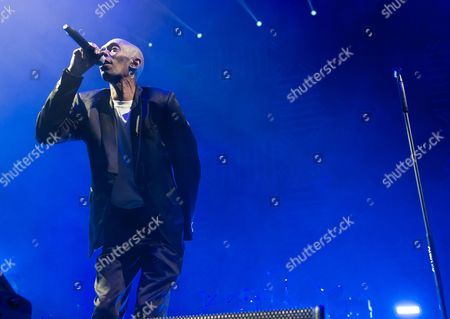Editorial photo of Faithless in concert at Alexandra Palace, London, Britain - 21 Nov 2015