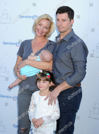 Ashley Scott, Steve Hart and children