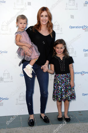 Ambyr Childers with children