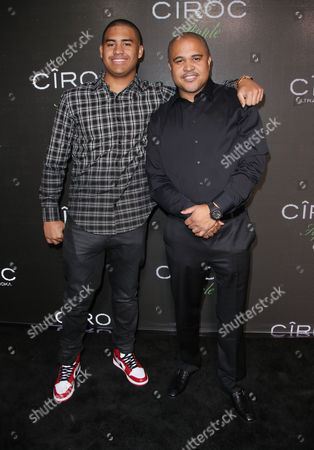 Irv Gotti and son