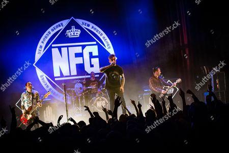 Jordan Pundik, Ian Grushka, Chad Gilbert, Cyrus Bolooki - New Found Glory