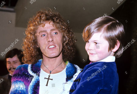 Stock Photo of Roger Daltrey and Barry Winch