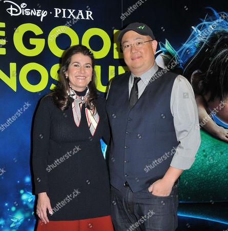 Denise Ream and Peter Sohn