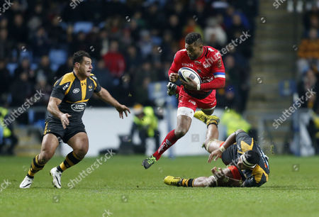 Editorial picture of European Rugby Champions Cup 2015/16 Pool Stage Pool Five Wasps v Toulon Ricoh Arena, Phoenix Way, Coventry, United Kingdom - 22 Nov 2015