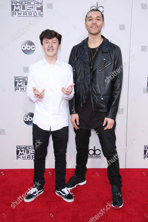 Stock Picture of Kalin White and Myles Parrish