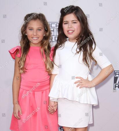Sophia Grace Brownlee and her cousin Rosie McClelland