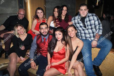 Raquel Castro with guests