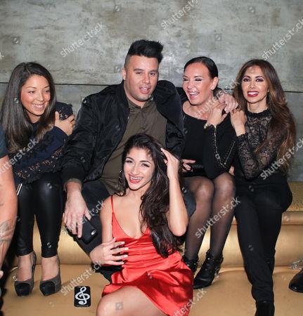 Raquel Castro, Sonya Bright, Tabasum Mir and Johnny Donovan
