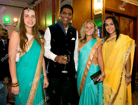 Anastasia Vasilyeva, Vijay Amritraj, Emily Webley-Smith and Heather Watson